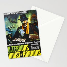 House of Horrors, vintage horror movie poster, Doctor Terror´s Stationery Cards