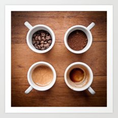 coffee VI. Art Print