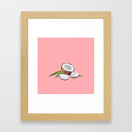 Pink is the new red. Framed Art Print