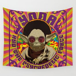 Yoda Psychedelic Wall Tapestry