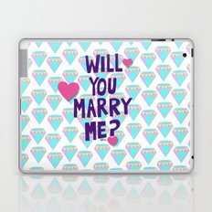 will you marry me? Laptop & iPad Skin