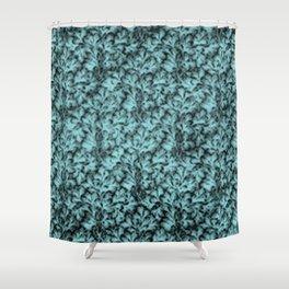 Vintage Floral Lace Leaf Island Paradise Shower Curtain