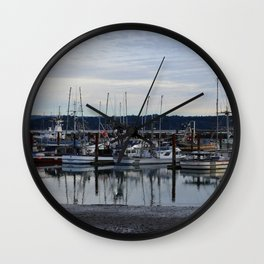 On the dock Wall Clock
