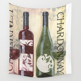 Transitional Wine 2 Wall Tapestry