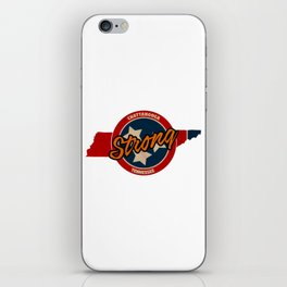 Chattanooga Strong iPhone Skin