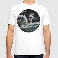 Man overboard Mens Fitted Tee White MEDIUM