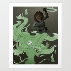 Spirit Stabbing Art Print