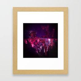 Oscuro Azúcar Framed Art Print