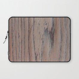 unique makassar wood brown nature design Laptop Sleeve