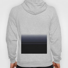 Minimual Blue Ombre White Stripe Design Hoody