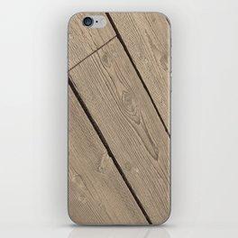 Wood Paneling iPhone Skin