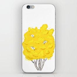 Yellow Birch  iPhone Skin