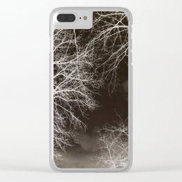 spectral sky Clear iPhone Case