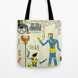 hero-glyphics: X Tote Bag