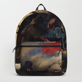 Eugne Delacroix - Liberty Leading the People Backpack