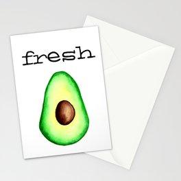 Fresh Avocado fr e sh a voca do Stationery Cards