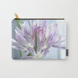 Purple Chive Flower | Kitchen | Nadia Bonello Carry-All Pouch