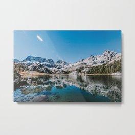 Eastern Sierras VIII - Ediza Lake Metal Print