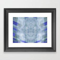 Portal Zone Framed Art Print
