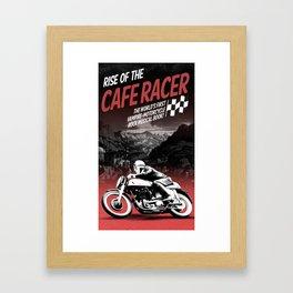 Rise of the Cafe Racer II Framed Art Print