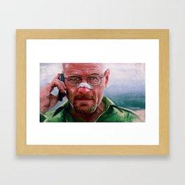 I Won - Walter White - Breaking Bad Framed Art Print