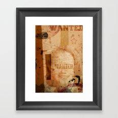 LOLITA:WANTED// Framed Art Print