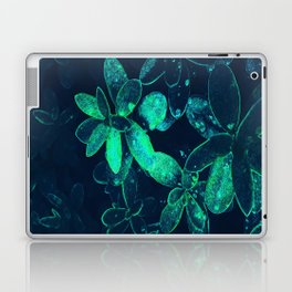 neon leaves Laptop & iPad Skin