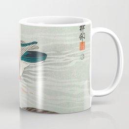 Ohara Koson - Mandarin ducks Coffee Mug