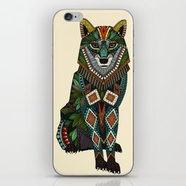 wolf ivory iPhone Skin