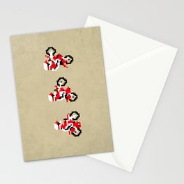 Excitebike Stationery Cards