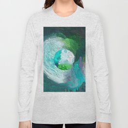 Abstract Mandala 189 Long Sleeve T-shirt
