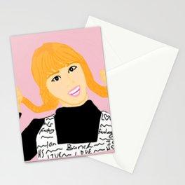 Knock Knock! Momo Pink Stationery Cards
