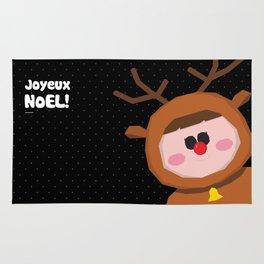 Joyeux Noel - Rudolph Rug