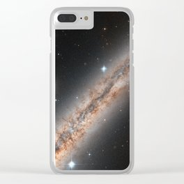Spiral Galaxy NGC 891 Clear iPhone Case