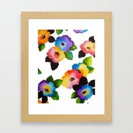 Watercolor Floral Multi Framed Art Print