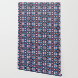 Abstract flower pattern 5i Wallpaper