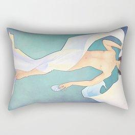 Sherlock in a Sheet Rectangular Pillow