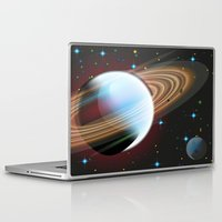 planets Laptop & iPad Skins featuring Planets by Kaitlynn Marie