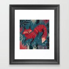F O X ! Framed Art Print