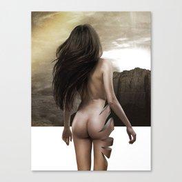 Nude Inside Canvas Print