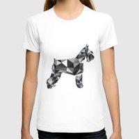 schnauzer T-shirts featuring poli schnauzer by monicamarcov