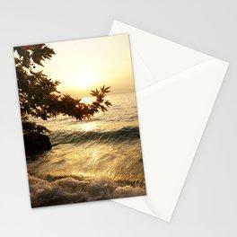 divine sunset Stationery Cards