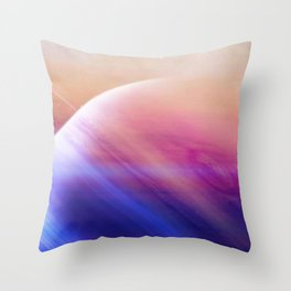 Return to the secrets of the galaxy Throw Pillow