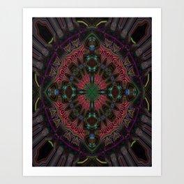 Amethyst Jewel Art Print