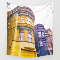 san francisco Wall Tapestries featuring San Francisco by Bethany Young Photography