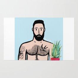 Beard Boy: Javier Rug