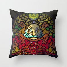 Sage of Light Throw Pillow