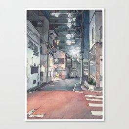 Tokyo at Night 03 Canvas Print