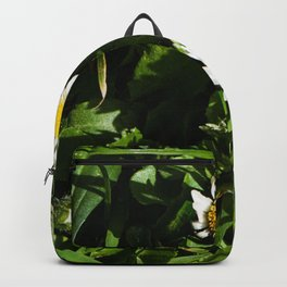 Spring Daisy Photography Print Backpack