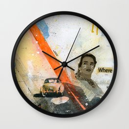 VACANCY zine Wall Clock